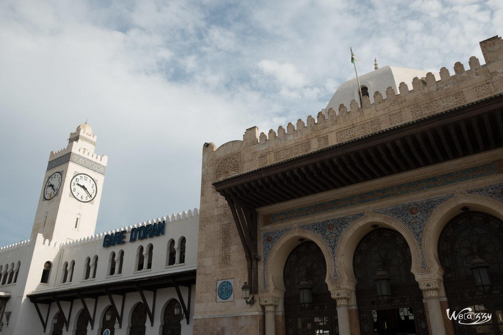 Algérie, Gare, Oran, Voyage