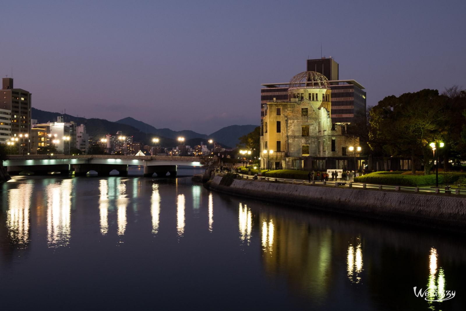 Hiroshima, Japon, Voyage, Genbaku