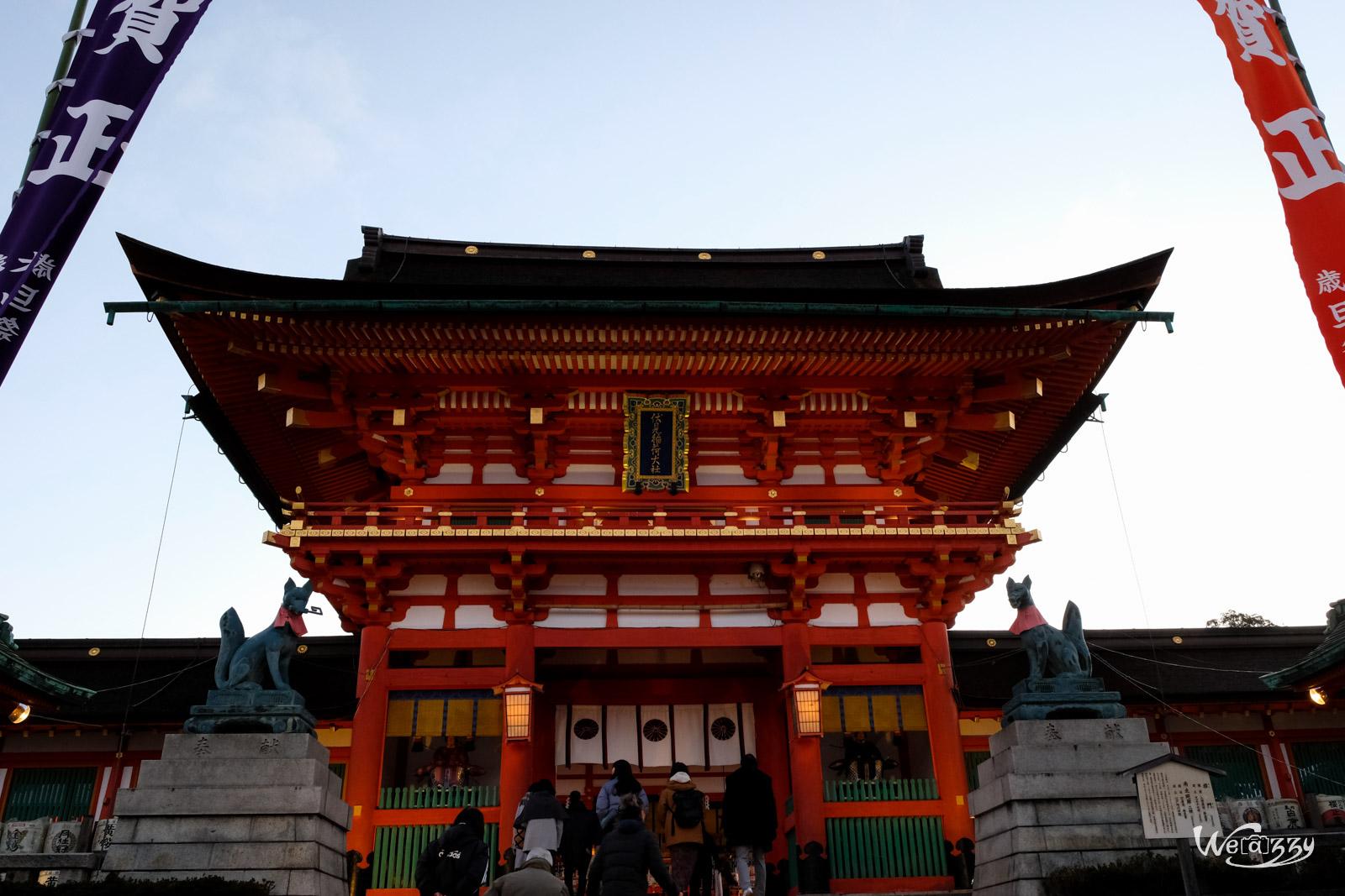 Japon, Kyoto, Voyage, Fushimi Inari Taisha, Temple