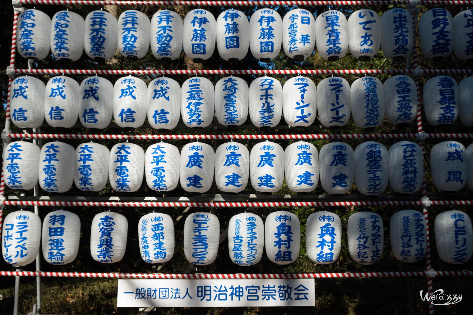 Japon, Tokyo, Voyage, Meiji, Temple