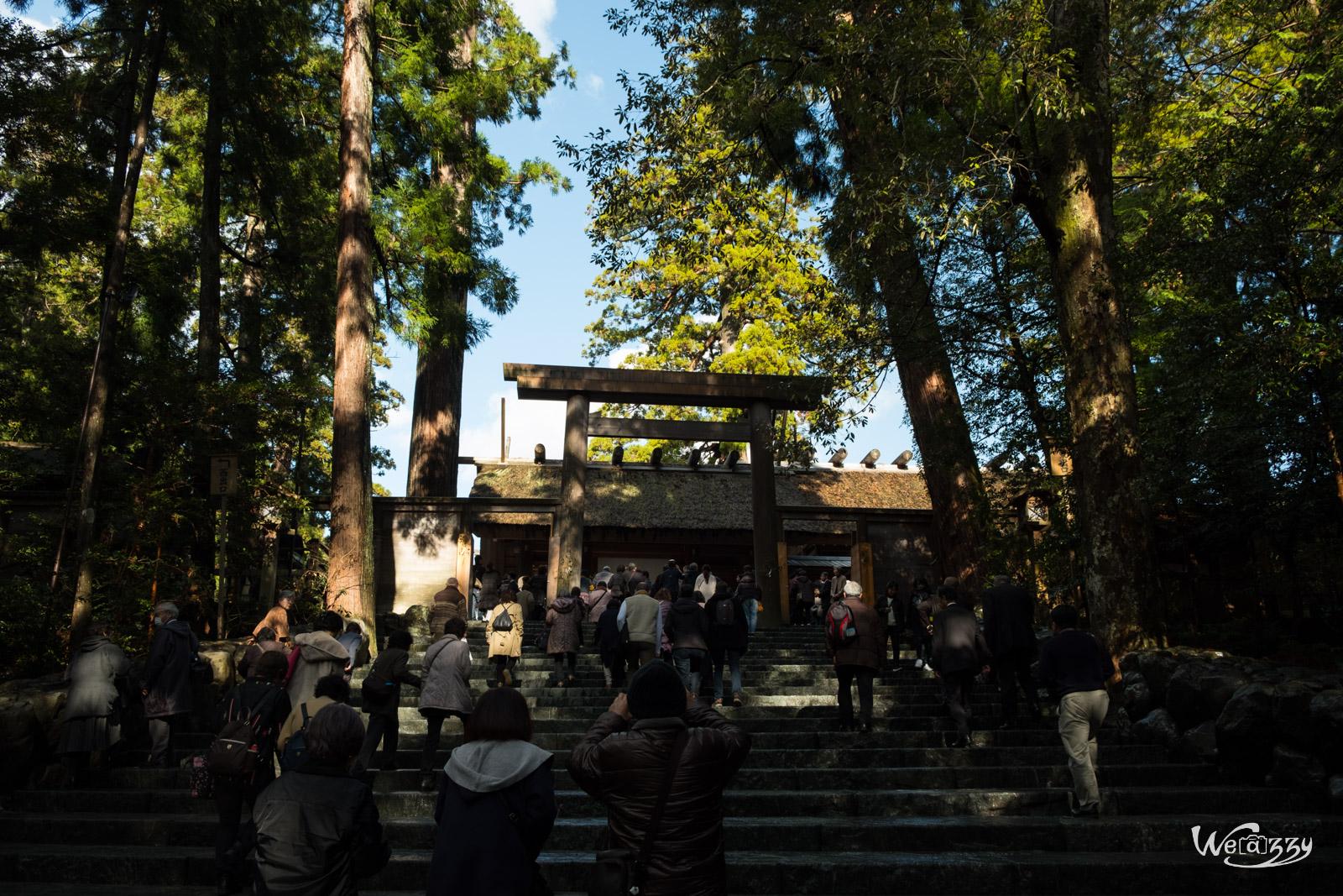 Ise, Japon, Voyage, sanctuaire, sacrés