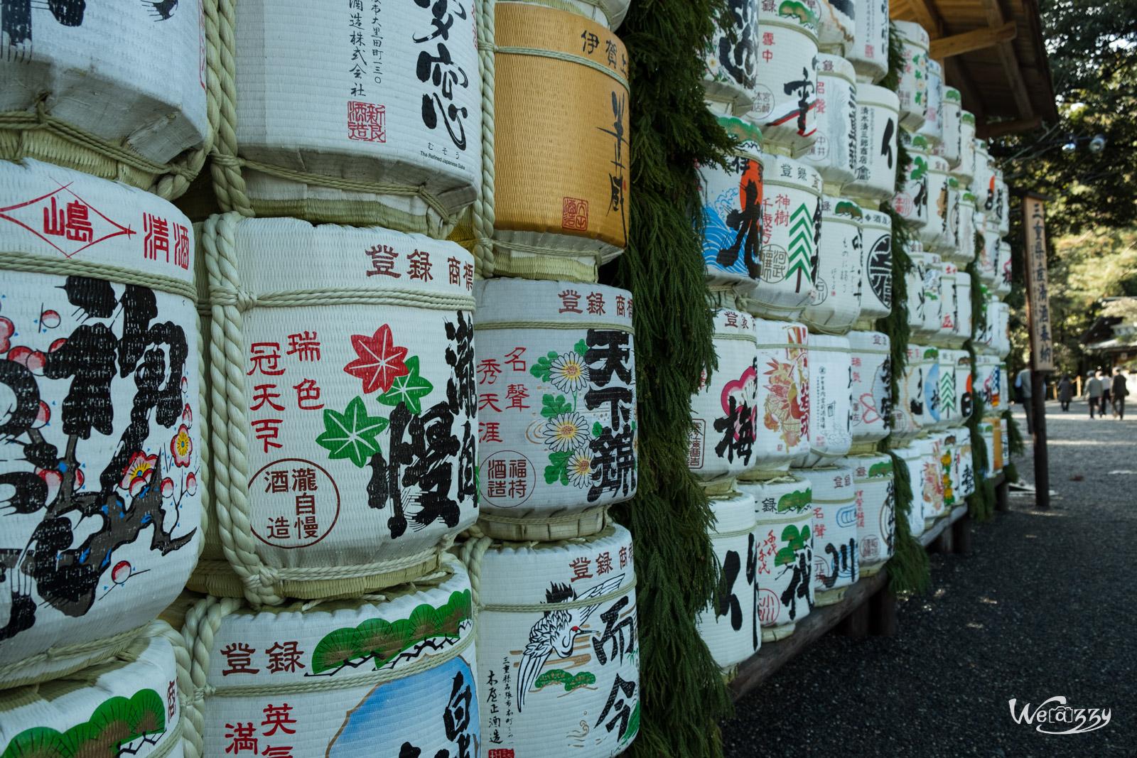 Ise, Japon, Voyage