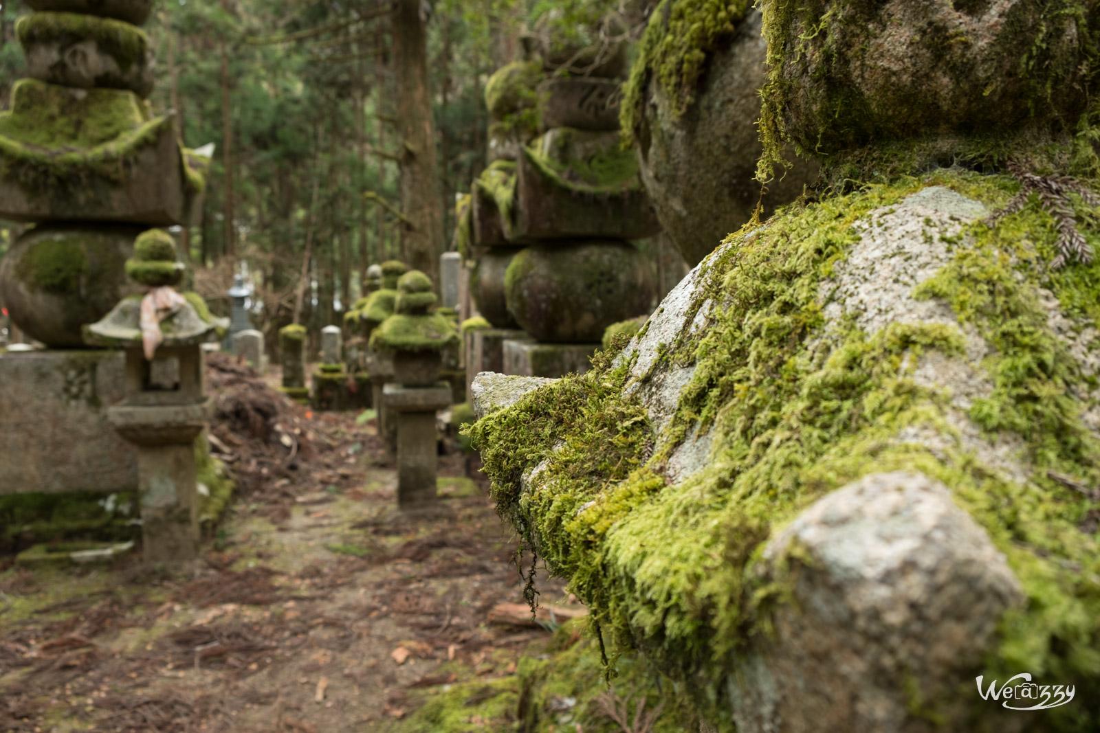 Japon, Koyasan, Voyage, cimetière, sacrés