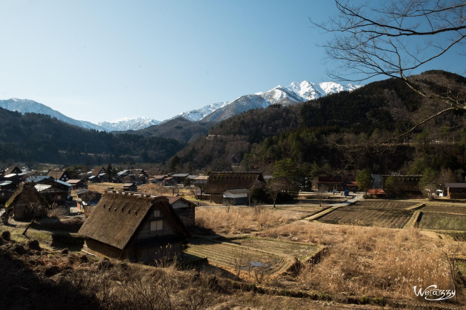 Japon, Shirakawa, Voyage, campagne