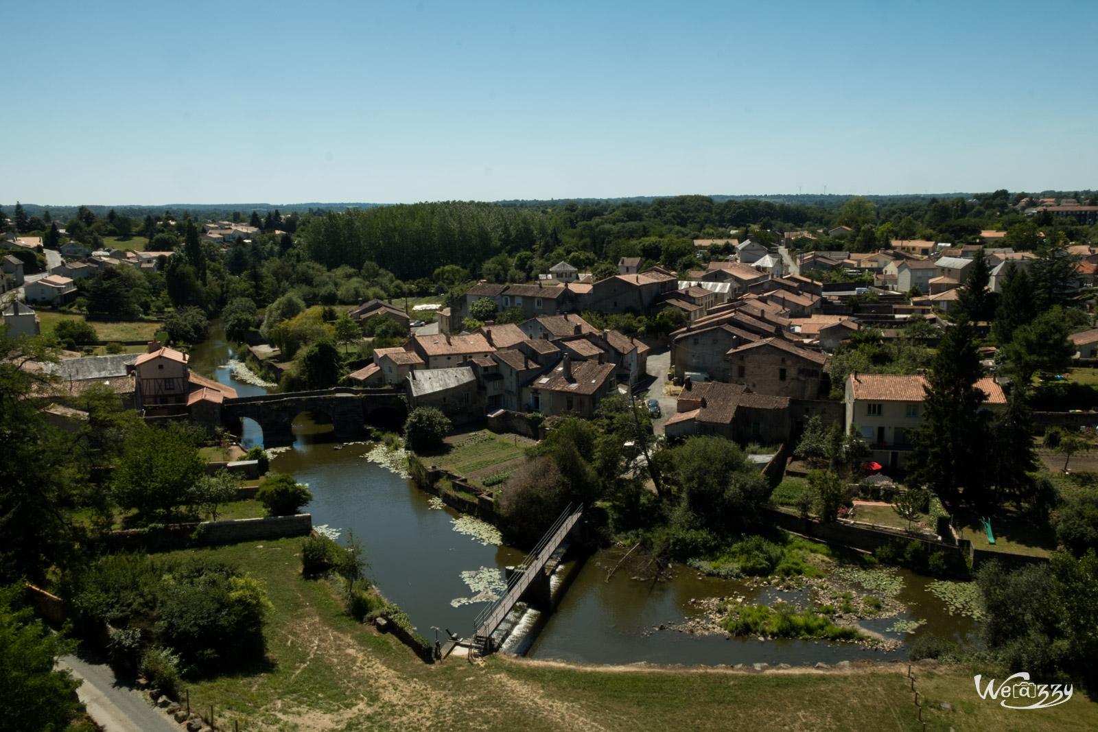 Parthenay, Ville, Médiéval