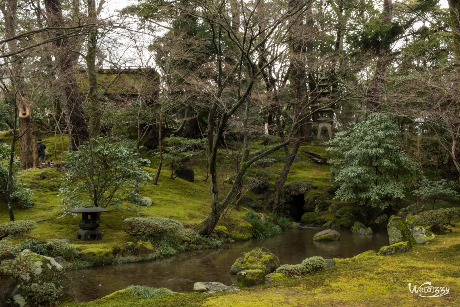 Japon, Kanazawa, Voyage, jardin japonais